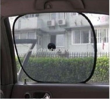 2-Pieces Car Side Window Sun Shade - Suction Cup, cover sunshade