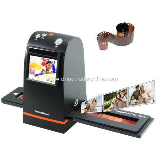 35mm Film Scanner with High Resolution LCD Screen(Built-in SD Card Slot)