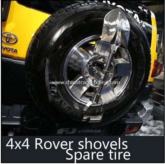 4x4 suv rover shovels spare tire shovels auto car auto accessories