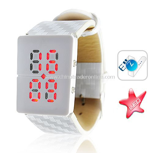 Andromeda - Japanese Inspired Red LED Watch