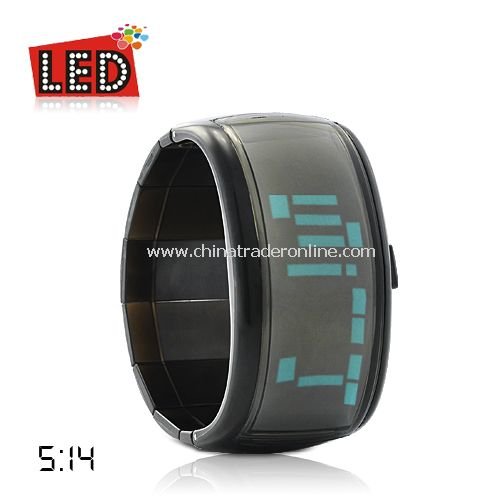 Anno Domini - Japanese Style LED Watch (Green)