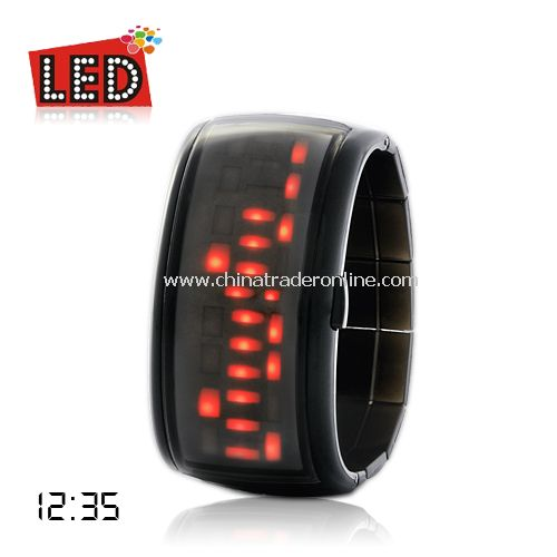 Anno Domini - Japanese Style LED Watch (Red)