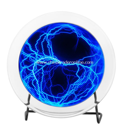 Blue Electric Plasma Plate with Touch and Sound Response (220V) - Brilliant Electric bolts
