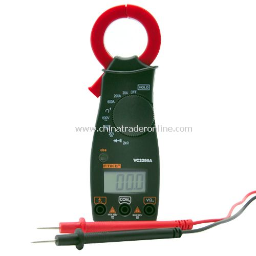 Digital Clamp Meter - Handheld & Easy to Use