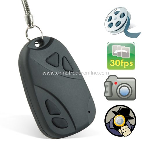 Digital Video Recorder Spy Camera (Keychain Car Remote Style) - High Definition from China