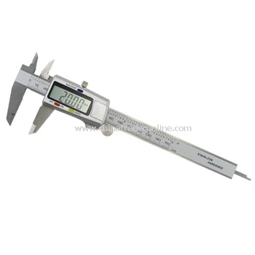 Electronic Digital Screen Display Caliper - Stainless Steel Construction