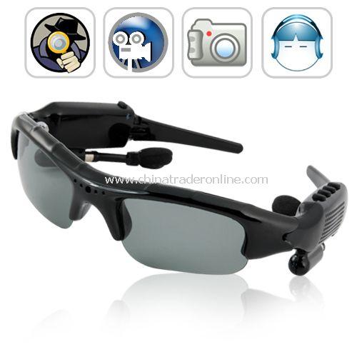 Espionage - Spy Camera Sunglasses ( DVR, Bluetooth, MP3) - FREE 4GB flash memory
