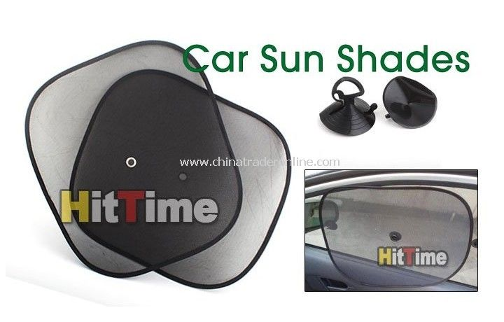 Foldable Side Window Screen Mesh Sun Shades for Car