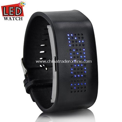 Grim Pilgrim - Japanese Styple Blue LED Watch