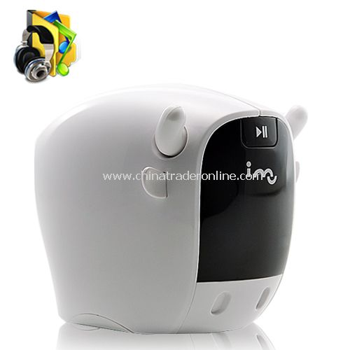 i-Mo Resonance Speaker + FM Radio + 2GB MP3 Player
