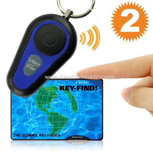 Mini Key Finder - Transmitter and Receiver Kit from China