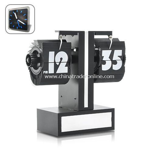 Mini Sized Retro Flip Clock - Flip Every 60 seconds