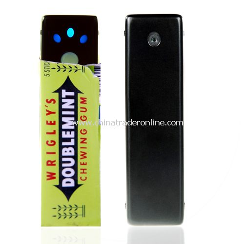 Mini Video Audio Spy Camera - Chewing Gum Wrapper Sized