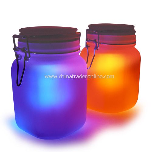 Moon Jar - Solar Power LED Mood Light - WaterProof