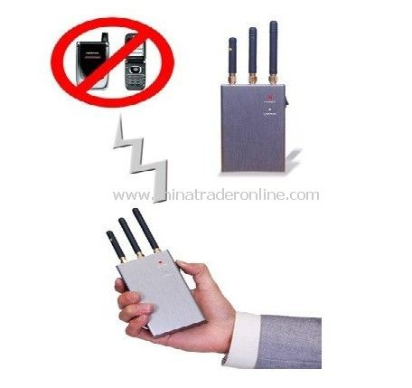 Portable Wireless Camera and Bug Spy Camera Jammer - 5-20m Shielding Range