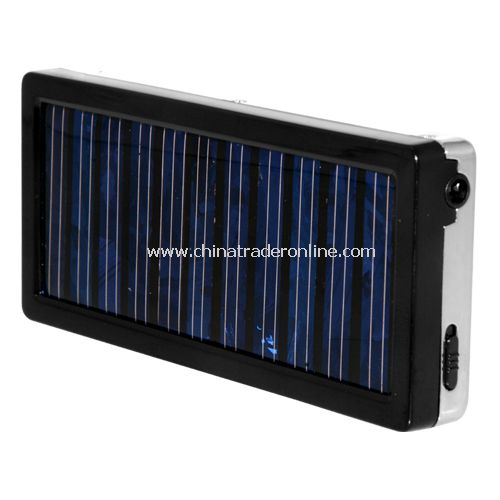 Solar Charger Mobile Phone - Portable Green Power Supply - Metal cased