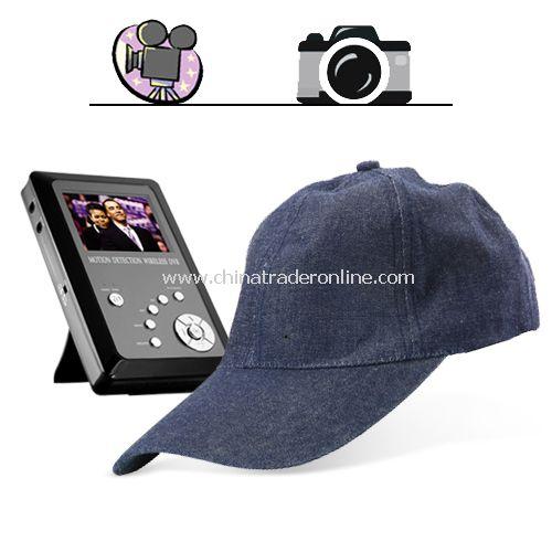 Spy Cap Hidden Recorder - Baseball Cap Style