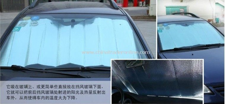Sun Shade/Sun Visor Shade File/Reflective Aluminum Auto Parts/Automotive Reflective