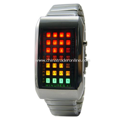 The Continuum - Japanese Multicolor LED Watch - Amazing and Fantastic LED Watch
