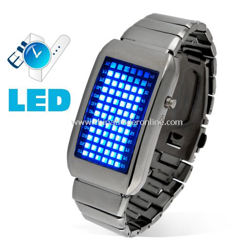 The One Kelvin - Japanese Style Mid-Sized Blue LED Watch - Elite and Chill!