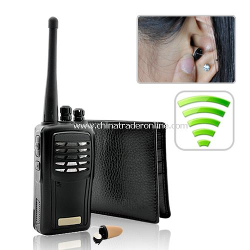 The Super Sneak - Wireless Audio Receiver Spy Kit