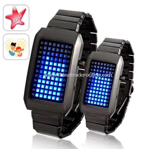 Two Kelvin - Japanese Inspired LED Watch - Cool Gift for Your Honey