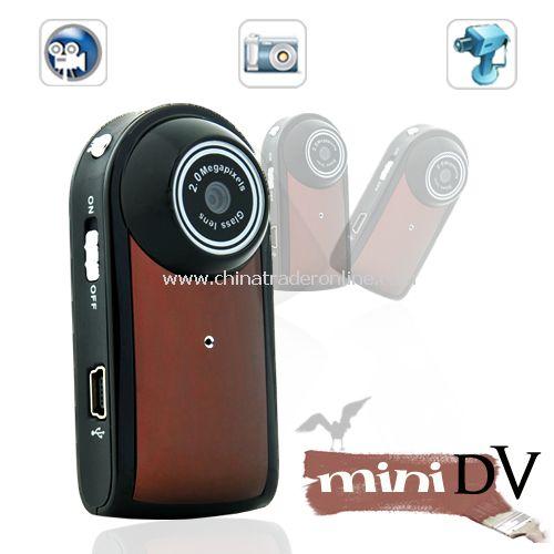 Ultra Compact MiniDV Camcorder (Motion Detection, 30 FPS) - 2MP native CMOS color sensor