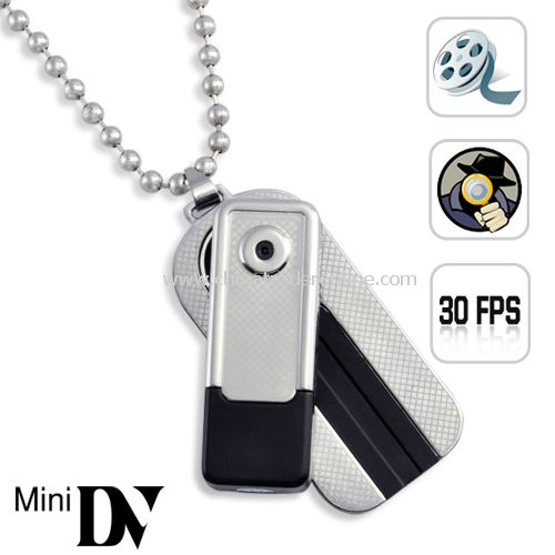Velocity - Ultra Compact Camcorder (Motion Detection, 30 FPS) - Durable all metal housing