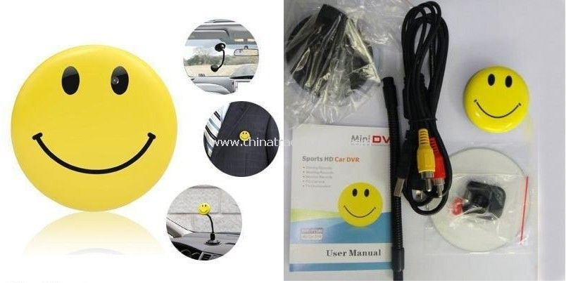 wholesale smile face anti spy product camera