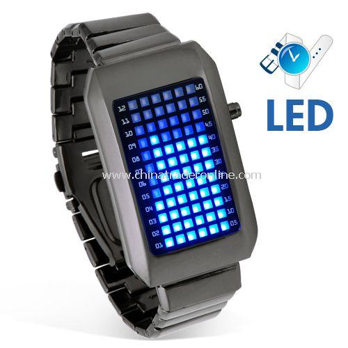 Zero Kelvin - Japanese Blue LED Watch - Stylish and Cool!