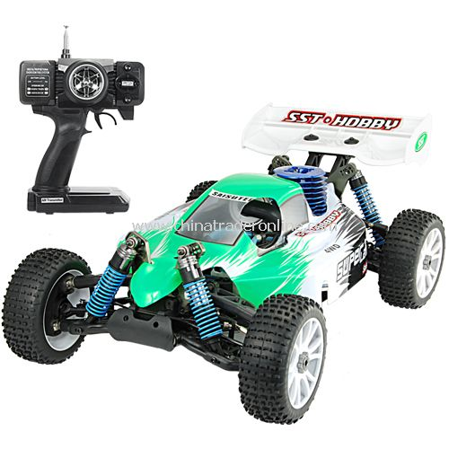 1:8 Scale Nitro Race Car With Pistol Grip Remote (220) from China