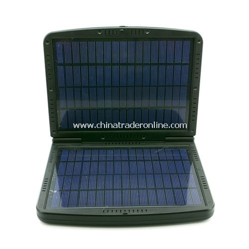 24,000mAh Compact-sized Super Solar Power Charger for Notebook Laptop, cell phone, camera/camcorder