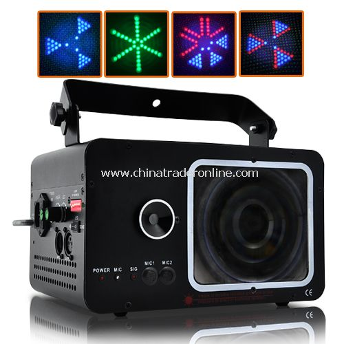 Galaxy - Super LED Lighting Projector with Guided Laser Effects, Sound Activation from China