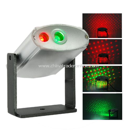 Laser Effects Projector With Red And Green Lights - Very cool Red and Green laser Starry Effects Projector.