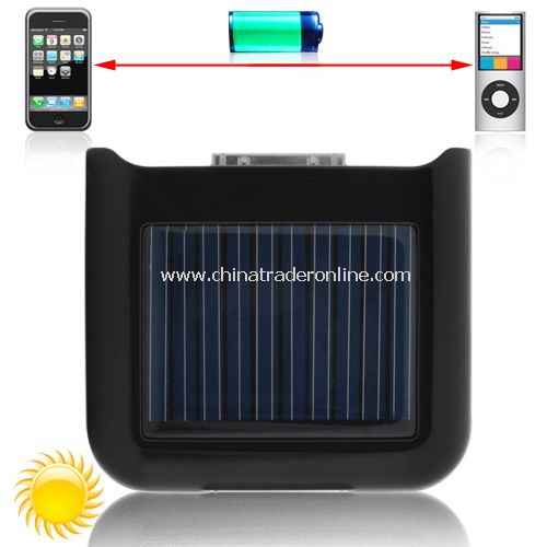 Portable Solar Battery Charger - Ultra Compact