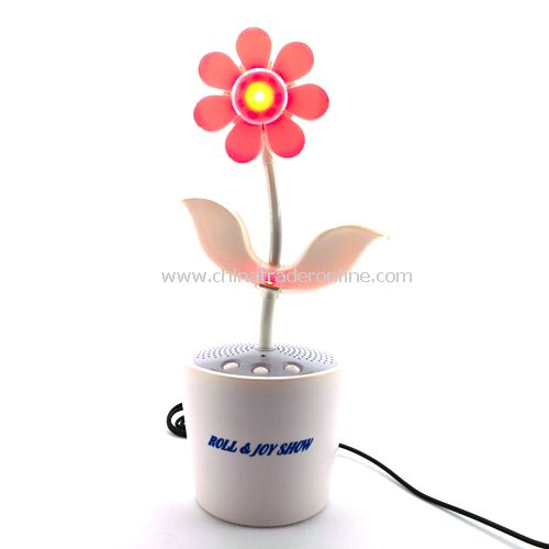 Sound-Activated Dancing Flower
