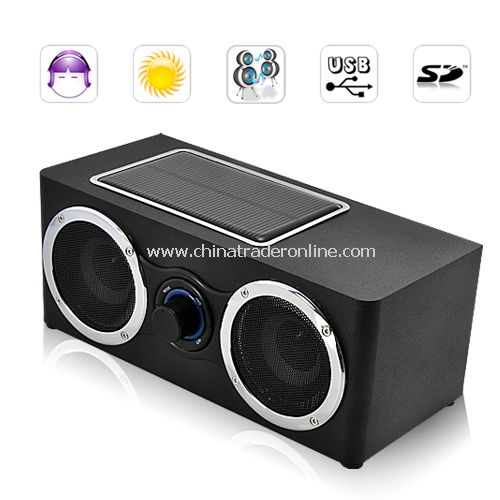Super Boom Speaker + Solar Charger + MP3 Player 3 IN 1