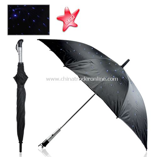 Twilight Blue LED Umbrella - Fully Waterproof