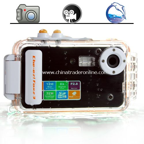 Waterproof 5MP Digital Camera - 2 inch TFT LCD Screen Camera from China