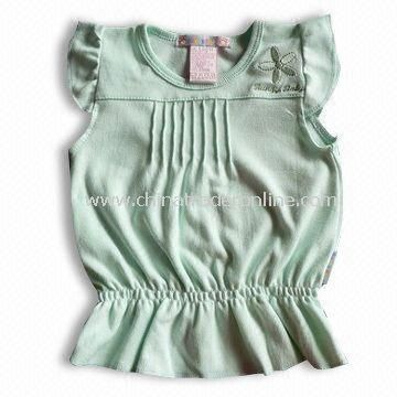 100% Cotton Baby Fashionable T-shirt,Various Colors Available