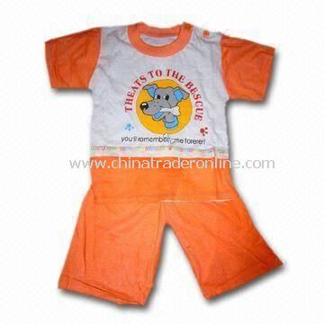 Babies Clothing Set, Made of 100% Cotton, EN and CPSIA Standards Available from China