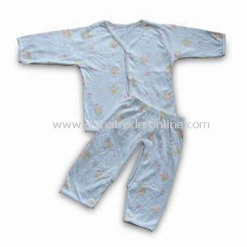 Babies Clothing Set with Leg Openings Pant, Made of 100% Cotton Material