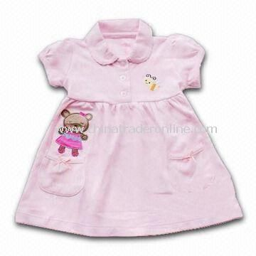 Babies Dress, EN and CPSIA Standards Available, Made of Cotton