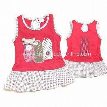 Babies Dresses, Made of 100% Cotton, Available in EN and CPSIA Standards