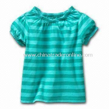 Babies T-shirt, Made of 100% Cotton Material, Available in Customized Colors