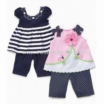promotional Baby Clothing Set, Includes Top and Pants | Baby ...