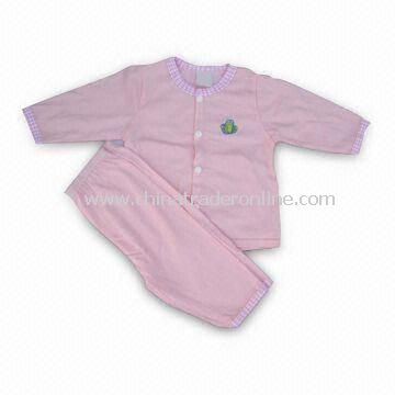 Cotton Babies Clothing Set, Customized Colors Accepted, Sized 0 to 24m