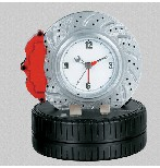 F1 Racing brake disc alarm clock