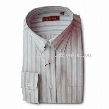 Mens Dress Shirt with Button Down Collar and 15 Buttons