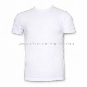 Promotional T-shirt in Compressed Packing, Made of 100% Cotton, 120gsm Weight